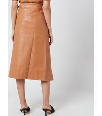 simon miller women's vega skirt - toffee - l