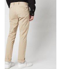 polo ralph lauren men's stretch slim fit chino trousers - classic khaki - w32/l30