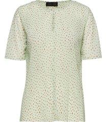 heart-ss blouses short-sleeved grön storm & marie