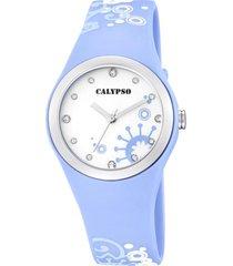 reloj digital crush celeste calypso