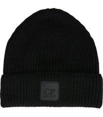 c.p. company beanie hat