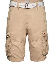 bay combat short shorts cargo shorts beige musto