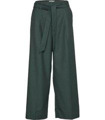 ivana pants wijde broek groen storm & marie