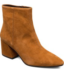 olivia shoes boots ankle boots ankle boot - heel brun vagabond