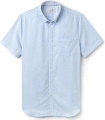 camisa lacoste live masculina