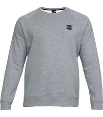 buzo gris under armour fleece