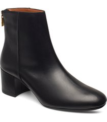 mei vacchetta shoes boots ankle boots ankle boots with heel svart atp atelier
