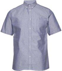 ete shirt overhemd met korte mouwen blauw les deux