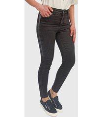 jeans ash skinny negro - calce ajustado
