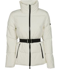 michael kors belted padded jacket