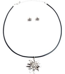 collana e orecchini (set 3 pezzi) (argento) - bpc bonprix collection