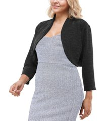 city studios trendy plus size bolero jacket
