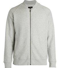 cotton track zip jacket