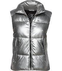 bomber jacket vests padded vests silver champion