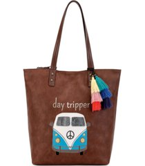 the sak palisade reversible tote, created for macy's