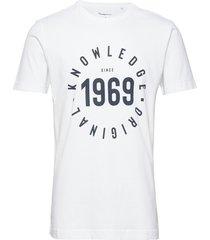 alder knowledge 1969 tee - gots/veg t-shirts short-sleeved vit knowledge cotton apparel