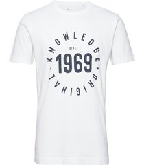 alder knowledge 1969 tee - gots/veg t-shirts short-sleeved vit knowledge cotton apparel