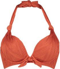 hunkemöller galibi vadderas bikinitopp med bygel i am danielle orange