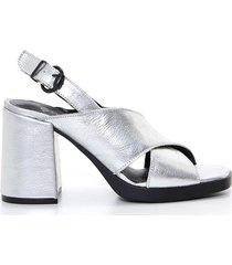 sandalia plata heyas homera