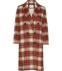 day komsu outerwear coats wool coats rood day birger et mikkelsen