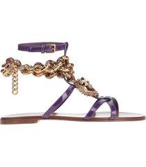 dolce & gabbana beachwear sandals