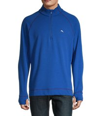 palm harbor quater-zip sweatshirt