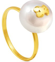 anillo de oro sweet dolls con perla 217095000