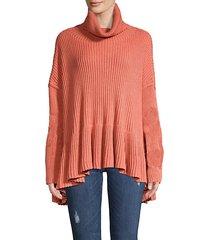layer cake knit sweater