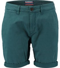 korte chino broek international blauw