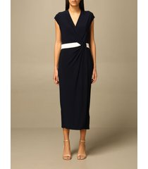 lauren ralph lauren dress lauren ralph lauren midi dress with knot