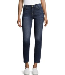 7 for all mankind women's gwenevere washed jeans - graham - size 30 (8-10)
