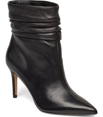 bewell/stivaletto /lea shoes boots ankle boots ankle boots with heel svart guess