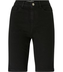 jeansshorts pckamelia skn mw long shorts