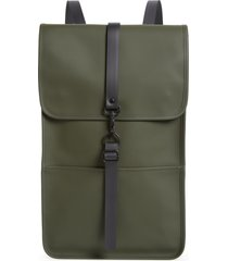 rains waterproof backpack - green