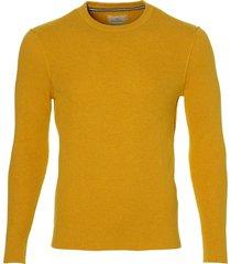 hensen pullover - extra lang - geel