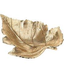 patera talerz dekoracyjny liść