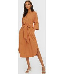 selected femme slfcarlotta 3/4 midi kaftan dress b loose fit dresses