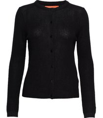 cashmere cardigan stickad tröja cardigan svart coster copenhagen