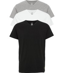 parker t-shirts short-sleeved multi/mönstrad lyle & scott