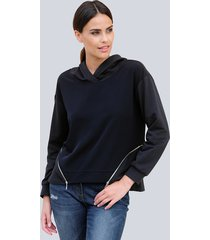 sweatshirt alba moda marine