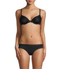 natori women's lace underwire bra - black - size 34c