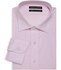 classic-fit dot design dress shirt
