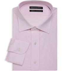 classic-fit dot design dress shirt