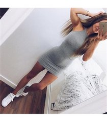 women bodycon sexy club sheath party bandage above knee mini dress