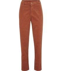 pantaloni di velluto elasticizzato con cinta comoda (marrone) - bpc bonprix collection