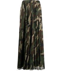 parosh d620367 pliffon camouflage skirt