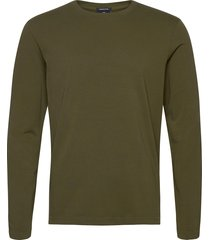 longsleeve tee in heavy organic cotton t-shirts long-sleeved grön scotch & soda