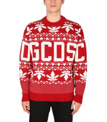 gcds christmas sweater with logo