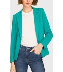 blazer ash verde - calce regular