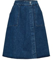 middellange rok denim